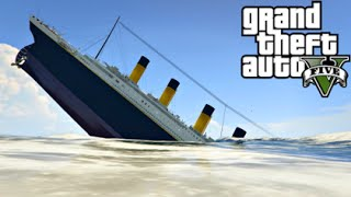 getlinkyoutube.com-GTA 5 Mods - TITANIC MOD! (GTA 5 PC Mods Gameplay)