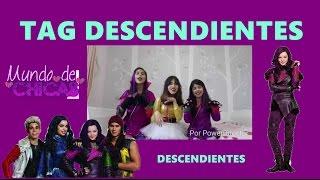 getlinkyoutube.com-TAG DESCENDIENTES + Disfraz de Mal + Nuestro Corto de Descendientes 💜 MUNDO DE CHICAS