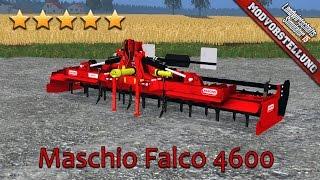 getlinkyoutube.com-LS 15 Modvorstellung #201 ★ Maschio Falco 4600 Kreiselegge