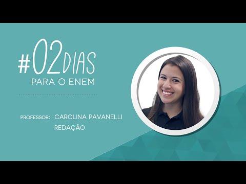 02 dias para o Enem | Redação com Carol