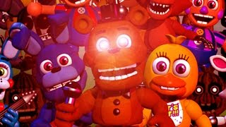 FNAF World SUPER REAL TOTALLY (NOT) OFFICIAL TRAILER [HD]