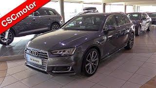 getlinkyoutube.com-Audi A4 Avant - 2016 | Revisión en profundidad y encendido