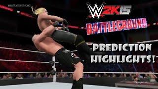 getlinkyoutube.com-WWE 2K15 Brock Lesnar vs Seth Rollins | Battleground 2015 - Prediction Highlights