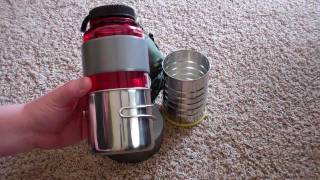 getlinkyoutube.com-Army Canteen vs Nalgene Bottle