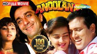 Andolan   Sanjay Dutt   Govinda   Mamta Kulkarni   Hindi Full Movie