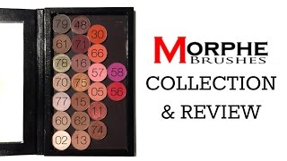 getlinkyoutube.com-Morphe Eyeshadow Collection 💖 & Review