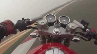getlinkyoutube.com-Royal Enfield Continental GT at Buddh Circuit