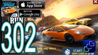 getlinkyoutube.com-NEED FOR SPEED No Limits Android iOS Walkthrough - Part 302 - ChopShop Tidal Run Murcielago SV
