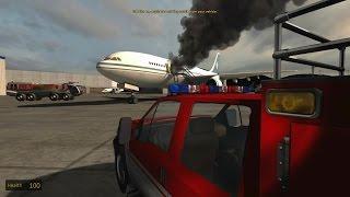 getlinkyoutube.com-American Airport Firefighters Simulator - Cabin Fire!