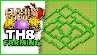 getlinkyoutube.com-Clash of Clans | Town Hall 8 Farming Base | Base #140 | TH8 TH 8