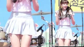 getlinkyoutube.com-My boyfriend girlfriend GFRIEND yerin to Dongtan Youth Festival ☆ BAMBINO FAN CLUB ☆