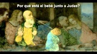 getlinkyoutube.com-Sorprendente hallazgo de bebe en pintura de da Vinci La ultima cena