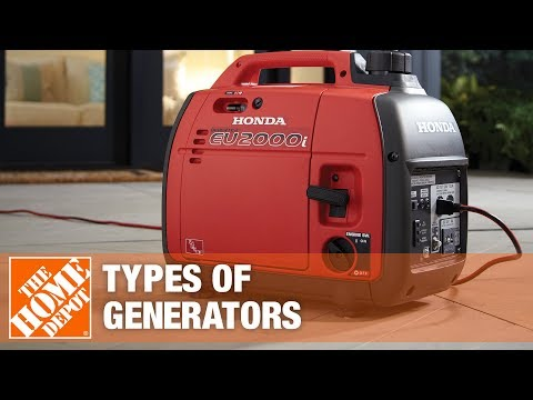 A video explains how to choose a generator for your home.