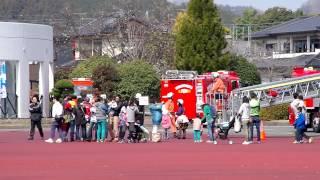 getlinkyoutube.com-イベント会場より出動する消防車