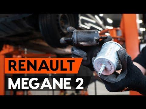 Как заменить топливный фильтр наRENAULT MEGANE 2 (LM) (ВИДЕОУРОК AUTODOC)