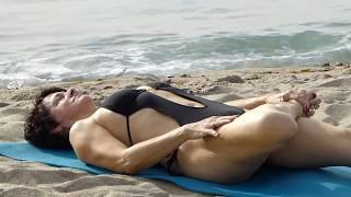 getlinkyoutube.com-Nearly Naked Yoga - Hip Opening
