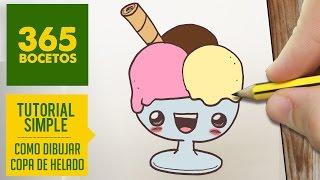 getlinkyoutube.com-COMO DIBUJAR UN COPA DE HELADO KAWAII PASO A PASO - Dibujos kawaii faciles - How to draw a sundae