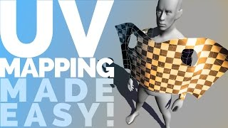 UV MAPPING MADE EASY! UV unwrapping tutorial for Maya 2015 / 2016 / LT 2016