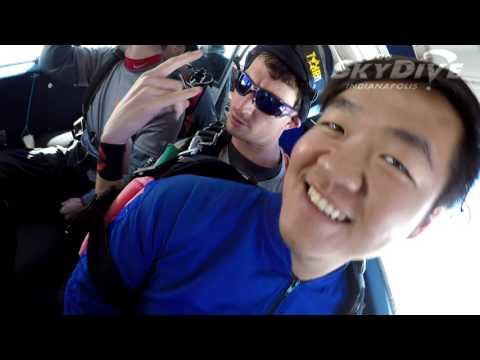 Michael Wei's Tandem skydive!