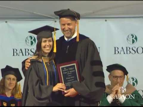 Babson College F.W. Olin Graduate School of Business 2013 Ceremony