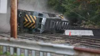AWVR  Unstoppable  Locomotive wreck scene