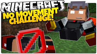 getlinkyoutube.com-Can You Play Minecraft Without MOVING!?   Minecraft No Movement Challenge (Custom Command)