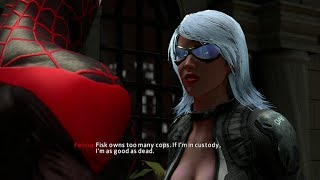 getlinkyoutube.com-The Amazing Spider-Man 2 Game - Black Cat Boss Fight