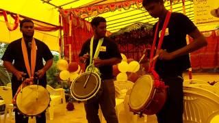 Tropical fire tassa group in garth road wedding