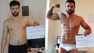 getlinkyoutube.com-Amazing 30 Days Transformation - Natural Extreme Fat Burn Challenge ( Steroid FREE )