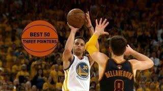 getlinkyoutube.com-Best 50 Three-Pointers: 2015 NBA Season