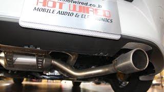 NDロードスターRS フジツボ マフラーの排気音/エキゾーストノート/エンジン音 MX-5 MIATA