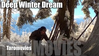 getlinkyoutube.com-Solo Mountain Overnight in a Deep Winter Dream/HD Bushcraft Survival Video