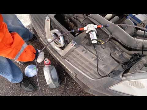 Замена масла в вариаторе Nissan Qashqai через щуп