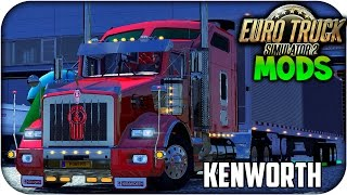 getlinkyoutube.com-Kenworth T800 Interior exclusivo + Aerocab | Euro truck simulator 2 | 1.14. -- 1.15 -- 1.16