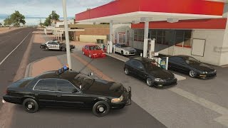 Forza Horizon 3 | Cop Chases & Police Patrols RP #3 w/ EK9 Civic, Integra, GTR, C7, & More
