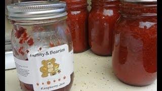 getlinkyoutube.com-How to Make (low sugar) Strawberry Jam From Scratch Canning or Freezer