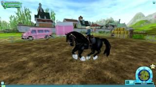 getlinkyoutube.com-StarStable Online- Shire Horses!