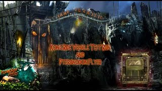 getlinkyoutube.com-Reign of Kong Ride Vehicle Test  and  Pteranodon Flyer