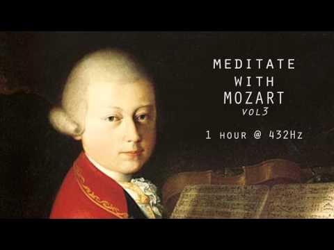 Meditate with Mozart | Vol 3 | Slowed Down Mozart's Music @ 432Hz