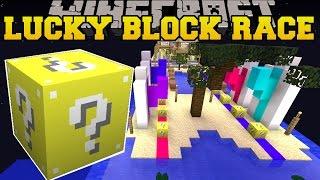 getlinkyoutube.com-Minecraft: TROPICAL VACATION LUCKY BLOCK RACE - Lucky Block Mod - Modded Mini-Game