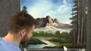 getlinkyoutube.com-Paint with Kevin Hill - Mountain Hideaway