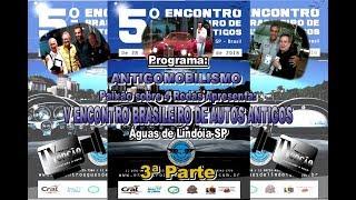 V Encontro Brasileiro de Autos Antigos de Águas de Lindóia-SP-3ªParte