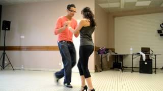 getlinkyoutube.com-Samy el Magico et Sonia - Bachata Dominicana
