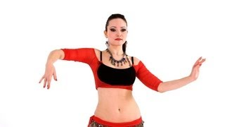 getlinkyoutube.com-How to Combine Snake Arms & Piston Hips | Belly Dance