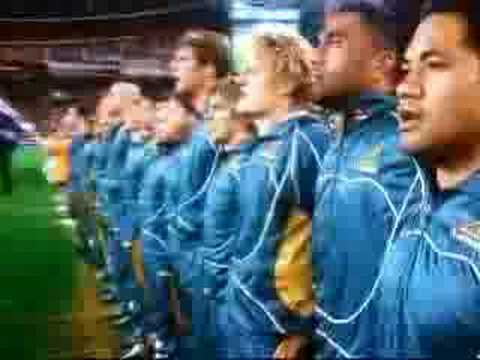 Australian National Anthem  Rugby Union International