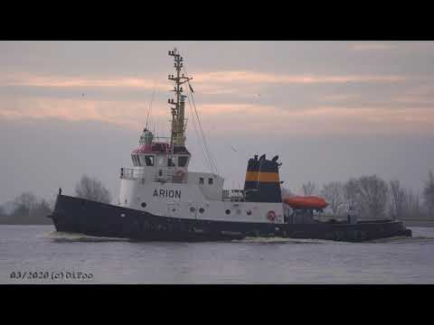 Click to view video 4K - ARION - IMO 7726902 - Germany - River: Weser - City: Brake Unterweser - 4K VIDEO