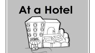 getlinkyoutube.com-At a Hotel | Easy English Conversation Practice | ESL