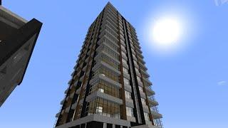 [マインクラフト]物件紹介part7 16階建てマンション