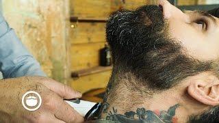 getlinkyoutube.com-Medium To Short Length Beard Trim   Carlos Costa