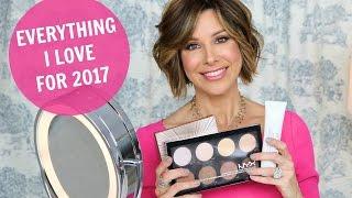 getlinkyoutube.com-Top 10 Products Rockin' My World in 2017 | Makeup, Hair, Skin Care